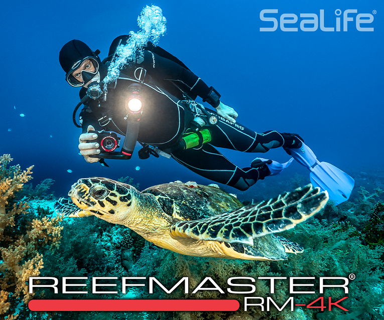 SeaLife's New ReefMaster RM-4K Camera